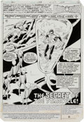 Original Comic Art:Splash Pages, Joe Staton and Mike DeCarlo Green Lantern #153 Splash Page 1Original Art (DC, 1982)....