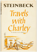 Books:Literature 1900-up, John Steinbeck. Travels with Charley: In Search of America.New York: Viking Press, [1962]. First edition. Publisher...