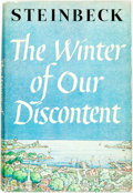 Books:Literature 1900-up, John Steinbeck. The Winter of Our Discontent. New York: Viking Press, [1961]. First edition. Publisher's cloth and o...