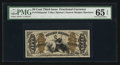 Fractional Currency:Third Issue, Fr. 1343SP 50¢ Third Issue Justice Face PMG Gem Uncirculated 65 EPQ.. ...