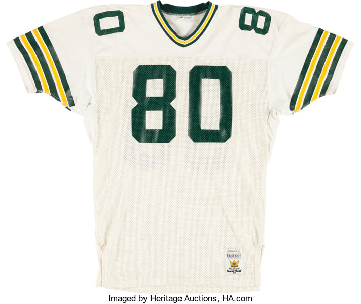 new concept 0e471 f6635 1988-90 Green Bay Packers Game Worn #80 Jersey. ... Football ...