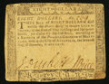 Colonial Notes:Maryland, Maryland December 7, 1775 $8 Fine.. ...
