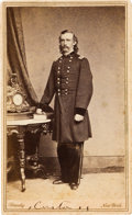Photography:CDVs, George Armstrong Custer: A Variant of this Early Civil War Carte de Visite by Brady....