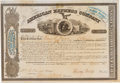 Autographs:Celebrities, Henry Wells and William Fargo: A Scarce and Always Popular StockCertificate Signed by Both, as well as Another Original Found...