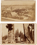 Photography:CDVs, Carte de Visite: Two Early Scenes of Southern California....