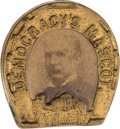 Political:Ferrotypes / Photo Badges (pre-1896), David P. Hill: Presidential Hopeful Badge....