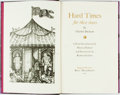 Books:Literature Pre-1900, [Imprint Society]. Richard Scollins, illustrator. SIGNED/LIMITED.Charles Dickens. Hard Times for These Times. Barre...