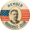 Political:Pinback Buttons (1896-present), Theodore Roosevelt: Rare Picture Pin....