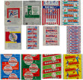 Baseball Cards:Lots, 1930's-1980's Topps, Bowman, Play Ball and Leaf Baseball &Football Wrappers Collection (48). ...