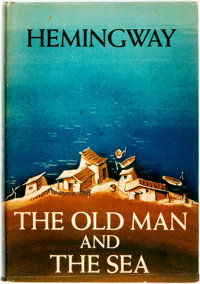 Ernest Hemingway. The Old Man and the Sea. New York: Charles Scribner's Sons, 1952. First editi