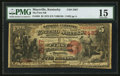 National Bank Notes:Kentucky, Maysville, KY - $5 1875 Fr. 404 The First NB Ch. # 2467. ...