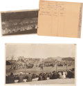 "Photography, ""Pawnee Bill's"" Wild West Show: Photo and Original Negative...."