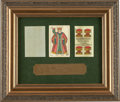 Miscellaneous:Gaming Collectibles, Pat Garrett: A Colorful Playing Card Which Once Belonged to the NewMexico Lawmen....