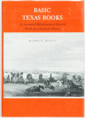 Books:Reference & Bibliography, [Bibliography]. John H. Jenkins. SIGNED. Basic Texas Books.Austin: Jenkins Publishing, 1983. First edition. Signe...
