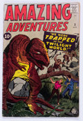 Silver Age (1956-1969):Horror, Amazing Adventures #3 (Marvel, 1961) Condition: VG-....