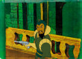 Animation Art:Production Cel, New Adventures of Flash Gordon Ming the Merciless Cel withCOA Animation Art (Filmation, 1979)....