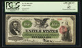 Large Size:Legal Tender Notes, Fr. 93 $10 1862 Legal Tender PCGS Apparent New 62.. ...