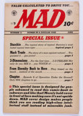 Golden Age (1938-1955):Humor, Mad #12 (EC, 1954) Condition: VG/FN....