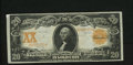 Large Size:Gold Certificates, Fr. 1186 $20 1906 Gold Certificate Very Fine. Original paper surfaces and dark inks highlight this $20 scarcer $20 Gold. Fr....