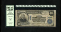 National Bank Notes:District of Columbia, Washington, DC - $10 1902 Plain Back Fr. 625 The National Metropolitan Bank Ch. # 1069. Officers are C.F. Jacobsen and G...