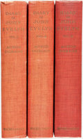 Books:Biography & Memoir, [John Evelyn] The Diary of John Evelyn. With anintroduction and notes by Austin Dobson. London: Macmillan,1906... (Total: 3 Items)