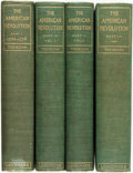 Books:Americana & American History, Sir George Otto Trevelyan. The American Revolution. NewYork: Longmans, Green, 1899. Four volumes. Original cloth bi...(Total: 4 Items)