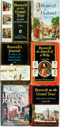 Books:Biography & Memoir, Frederick A. Pottle, editor. Group of Six Books about JamesBoswell. New York: McGraw-Hill, [1950s]. All first editions. Pub...(Total: 6 Items)