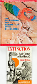 Books:Science & Technology, [Dinosaurs]. [Extinction]. Pair of Books on Dinosaur Extinction. Various publishers and dates. Various sizes, octavo and qua... (Total: 2 Items)