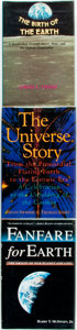 Books:Science & Technology, [Cosmology]. Trio of First Editions on the Formation of the Universe. Various publishers and dates. Octavos. Publisher's clo... (Total: 3 Items)
