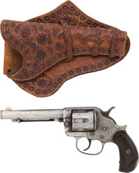 Rose of the Cimarron: A Model 1878 Colt .45 Revolver and Tooled Leather Holster Attributed to the Legendary Cohort of Ok...