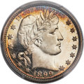 Proof Barber Quarters, 1899 25C PR67+ Deep Cameo PCGS. CAC....
