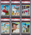 Baseball Cards:Lots, 1970 Topps Baseball Graded PSA Gem MT 10 Collection (6) - Each PopThree. ...