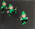 Animation Art:Production Cel, Lucky Charms Television Commercial Production Cel AnimationArt Group (General Mills, 1970s).... (Total: 3 Items)