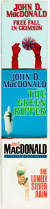Books:Mystery & Detective Fiction, John D. MacDonald. Group of Three First Edition, First PrintingTravis McGee Books. Titles include: The Gree... (Total: 3Items)