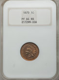 Proof Indian Cents: , 1870 1C PR64 Red and Brown NGC. NGC Census: (48/45). PCGS Population (93/43). Mintage: 1,000. Numismedia Wsl. Price for pro...