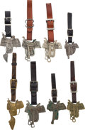 Advertising:Small Novelties, Saddle-Makers Advertising Watch Fobs: A Great Collection of EightDifferent....