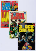 Modern Age (1980-Present):Science Fiction, Judge Dredd Related Short Box Group (Eagle, 1980s) Condition:Average NM-....