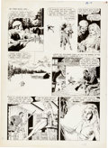 "Original Comic Art:Panel Pages, Reed Crandall Vampirella #1 ""Two Silver Bullets"" Page 2Original Art (Warren, 1969)...."