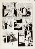 "Original Comic Art:Panel Pages, Reed Crandall Vampirella #1 ""Two Silver Bullets"" Page 4Original Art (Warren, 1969)...."