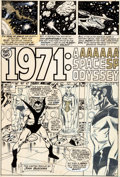 "Original Comic Art:Panel Pages, John Buscema and Tom Palmer Avengers #94 ""Part Two: 1971: ASpace Odyssey"" Page 7 Original Art (Marvel, 1971)...."