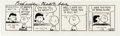 Original Comic Art:Comic Strip Art, Charles Schulz Peanuts Daily Comic Strip Original Art dated 1-21-88 with Signed Letter (United Feature Syndicate, ... (Total: 2 Items)