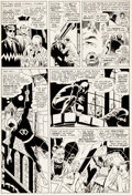 Original Comic Art:Panel Pages, Wally Wood and Bob Powell Daredevil #9 Page 7 Original Art(Daredevil, 1965)....