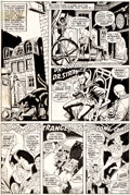 "Original Comic Art:Panel Pages, Ross Andru and Bill Everett Marvel Feature #1 ""The Day ofthe Defenders!"" Doctor Strange Page 2 Original Art (Marv..."