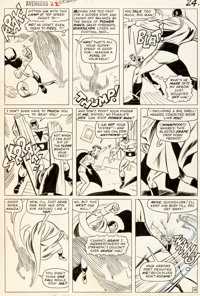 Don Heck and Wally Wood Avengers #22 Page 18 Original Art (Marvel, 1965)
