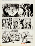 """Original Comic Art:Panel Pages, Bernie Wrightson I'll Be Damned #4 """"Out On A Limb"""" Page 2Original Art and Book Group (Damnation Enterprises, 1971..."""