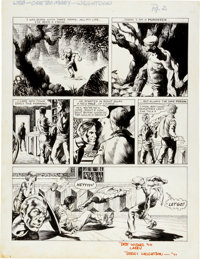 """Bernie Wrightson I'll Be Damned #4 """"Out On A Limb"""" Page 2 Original Art and Book Group (Damnation Enterprises..."""