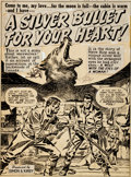 Original Comic Art:Splash Pages, Jack Kirby and Joe Simon Black Magic #3 Splash Page 1 Original Art (Prize, 1951)....