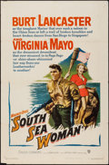 "Movie Posters:Adventure, South Sea Woman (Warner Brothers, 1953). One Sheet (27"" X 41"").Adventure.. ..."