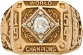 Baseball Collectibles:Others, 1954 New York Giants World Championship Ring Presented to SalMaglie....
