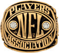 Football Collectibles:Others, 1980's NFL Players Association Ring. ...